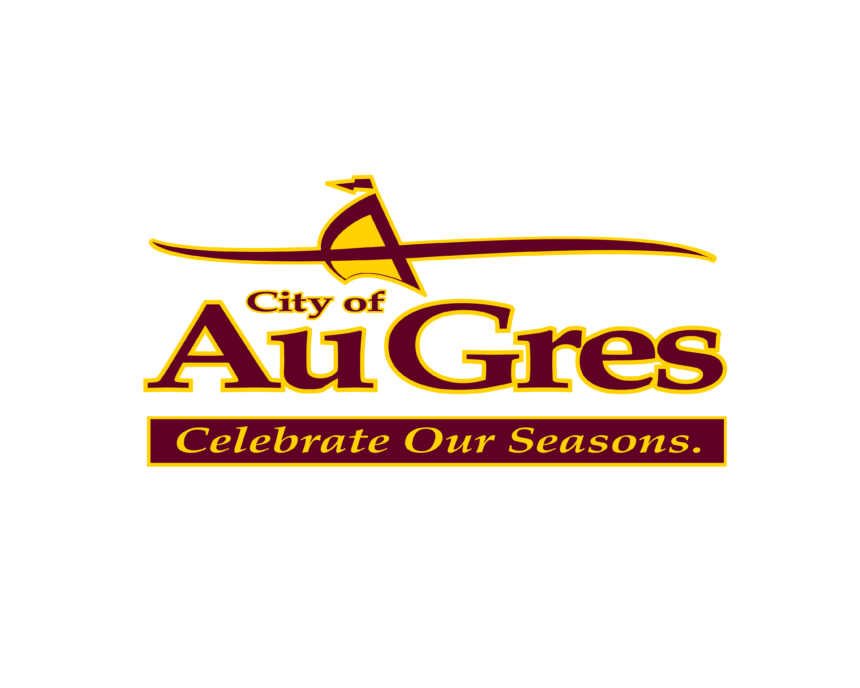 City of Au Gres Logo Wave Things To Do page